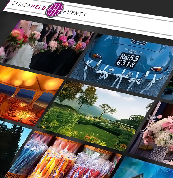 Elissa Held Events Website