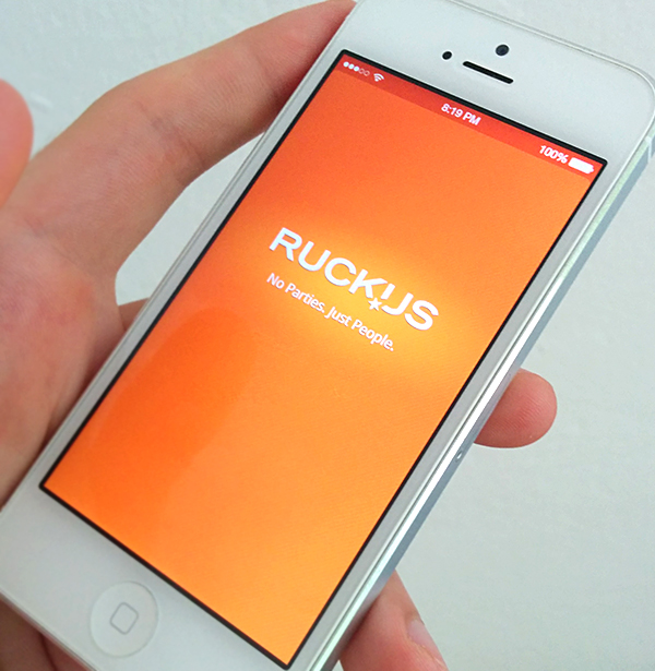 Ruckus iPhone App